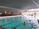 In-house, large subtropical swimming pool
