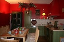 Romantische Landhausküche