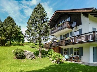 Fe-Wo mit herrlichem Bergblick, nähe Schloß Neuschwanstein