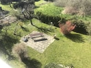 Garten Blick vom Balkon