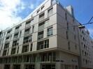 Gebäude Außenansicht - moderne Architektur in Wien.