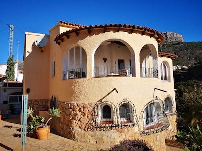 Point de vue Mirador Monte Toix, Calpe, Communauté valencienne, Espagne