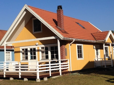 Schwedenhaus Seeblick am Useriner See
