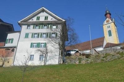 Skigebiet Brunni, Alpthal, Kanton Schwyz, Schweiz