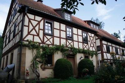 Ferienhaus im Naturpark Haßberge für 4-12 Personen oder mehr