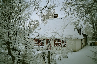 Nicht nur im Sommer gemütlich:Winter in Kieferneck