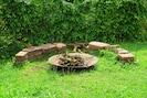 Feuerplatz im Garten