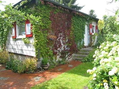 Eingang Ferienhaus