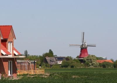 Haus und Mühle