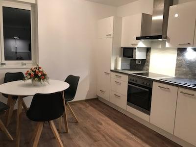 Schöne barrierefreie 3 1/2-Zimmer-Wohnung in Strandbadnähe!