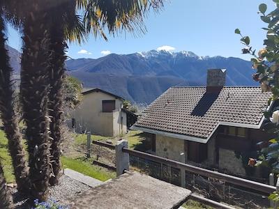Aussicht auf den Monte Generoso