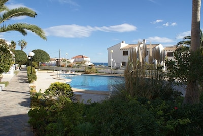 Cabo Roig, Orihuela Costa direkt Strand, La Zenia, Pool, Parkplatz, Balkon, TOP