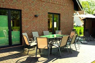 Sehr großzügiges komfortables Ferienhaus im ruhigen Boiensdorf