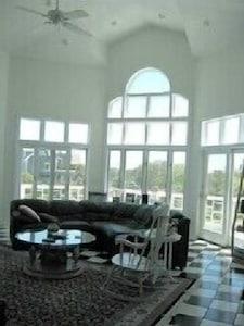 Great Room - Superb Views, Deck
