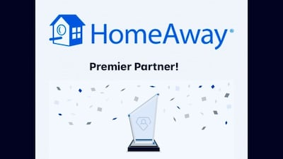 Homeaway Premier Partner!