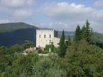 Pieve dei Santi Gervasio e Martino a Lobaco, Pontassieve, Tuscany, Italy