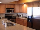 Modern fully stocked kitchen