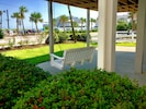 Just steps to the Dunes & Beachfront Restaurant...
