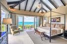 Our Junior master suite with stunning views and hammocks on the balcony