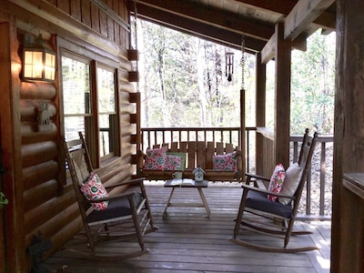 Blue Spruce Quiet And Peaceful Mountain Cabin No Pets Allowed Free Wi Fi Townsend