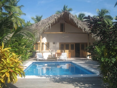 The Ave del Paraiso villa with its private swimming pool
