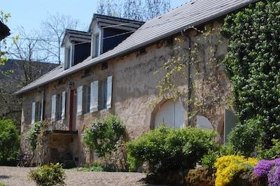 Roussillon-en-Morvan, Saone-et-Loire (department), France