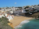 Carvoeiro beach is not far away