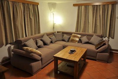 Comfy L-sofa