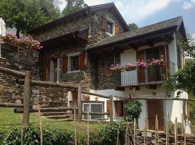 Cossogno, Piémont, Italie