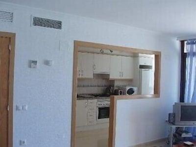 Kitchen/very large lounge