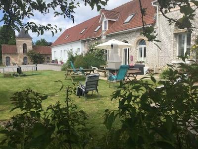 View of garden area