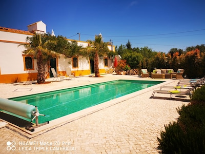 Traditional Algarve farmhouse styled villa full of character and charm