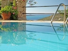 Villa Kahili has wonderful views of Kalkan harbour and its  Islands