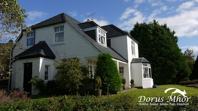 Beautiful house commanding stunning views of the Solway Firth