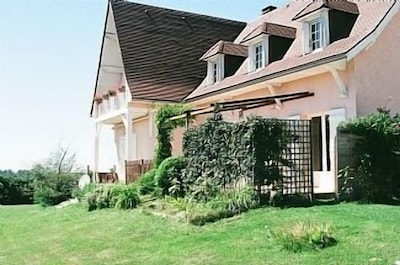 Belle maison avec piscine privée et magnifiques vues sur la montagne