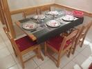 La table est mise!