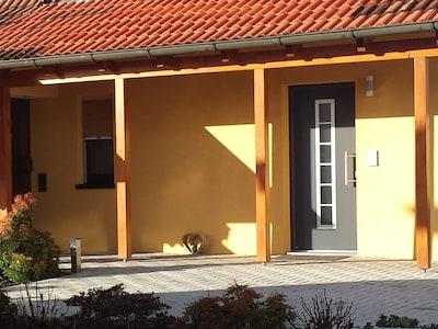 Eingangsbereich mit Stellfläche