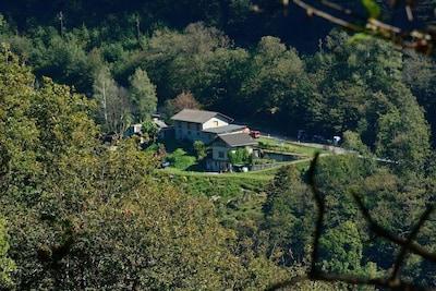 Casa Cresmino Teil eines Ziegenhofes mitten in der Natur