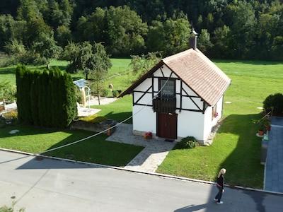 Backhaus von oben