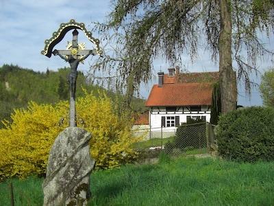Das Backhaus im Frühling