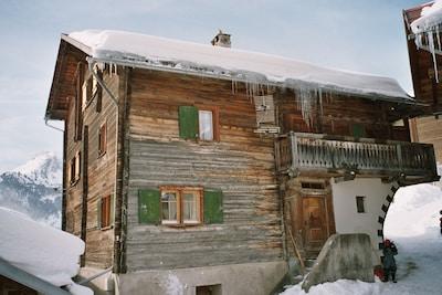 Mutten, Graubuenden, Switzerland