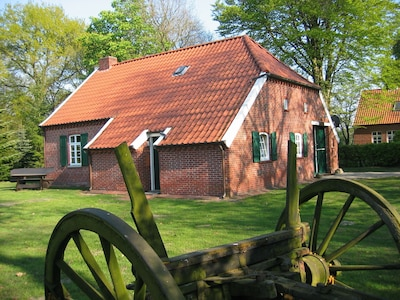 Peat and Settlement Museum, Wiesmoor, Lower Saxony, Germany