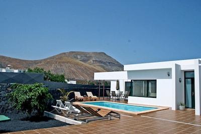 Kunstzentrum La Antigua Escuela de Yaiza, Yaiza, Kanarische Inseln, Spanien