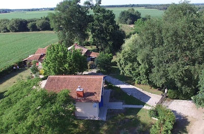Photo aérienne de la propriété
