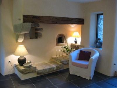 Le coin près de la cheminée