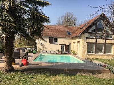 Montigny-sur-Vesle, Département Marne, Frankreich
