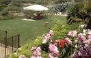 Garden and gloriette
