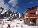 Gîte Edelweiss vue sur pistes de ski