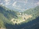 Le hameau vu de la balade vers les Cascades
