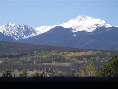 Byer's Peak from Balcony in the fall